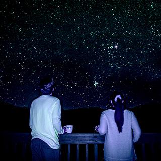 満点の星空をひとりじめ